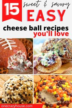 Cheese Balls are the perfect holiday appetizer (or dessert!). They're made with only a few, real ingredients and are ready in just minutes. Try these super easy recipes that are guaranteed to be a huge hit with your friends and family! #cheeseball #partyfood #appetizerrecipes #desserts Delicious Cheese Ball Recipe, Cheese Ball Recipes, Cream Cheese Recipes, Yummy Food, Best Appetizer Recipes, Great Appetizers, Holiday Appetizers, Top Recipes, Easy Recipes