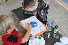 Play At Home Mom LLC: Push Light Planets