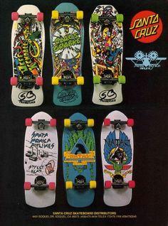 Santa Cruz & SMA Skateboards
