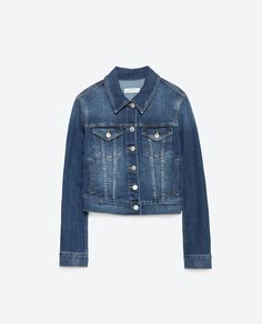Image 8 of DENIM JACKET from Zara