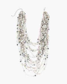 Chico's Bianca Multi-Strand Necklace