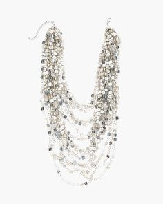 Chico's Bianca Multi-Strand Necklace