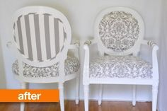 Before & After: These Grunge-Era Chairs Reach Their True Nirvana | Apartment Therapy