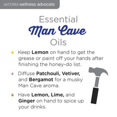 Looking for ways to use oils for the men in your life? #thatcrazyoillady #essentialoils #doterra