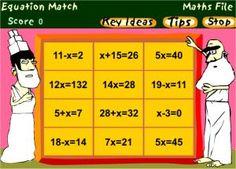 Math Algebra Games Online - Free Interactive Algebra Games