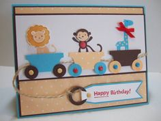 Dash's 2nd Birthday by maria031767 - Cards and Paper Crafts at Splitcoaststampers
