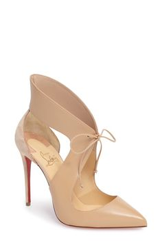 Christian Louboutin Christian Louboutin Ferme Rouge Pointy Toe Pump (Women)  available at #Nordstrom