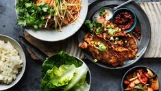 Neil Perry's spicy marinated pork