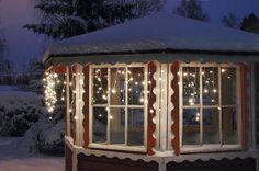 Decoration lighting Gazebo, Outdoor Structures, Lighting, Decoration, News, Decor, Kiosk, Pavilion, Lights