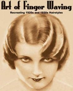 """Vintage Hairstyles """"Art of Finger Waving: Recreating Vintage and Hairstyles,"""" by Paul Compan. I wonder if my hair could be finger-waved. Gatsby Headpiece, Flapper Headband, Gatsby Hair, Finger Wave Hair, Finger Waves, Steampunk Hairstyles, Pin Up, Traditional Hairstyle, Retro Waves"""