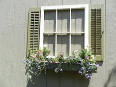 upcycled garden shed window, curb appeal, gardening, outdoor living, windows