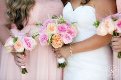 Blush, Orange, and Peach Florals. Rancho Valencia Wedding | Holly and Brian, Photography by Clove & Kin. View More: http://cloveandkin.com/blog/rancho-valencia-wedding-holly-brian/