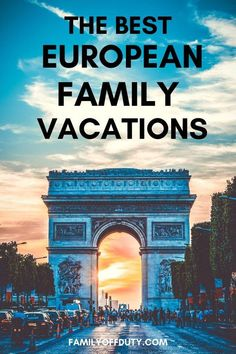 Check out our list of best family resorts in Europe. Backpacking Europe, Travel With Kids, Family Travel, Best Family Resorts, Family Vacations, Bucket List Europe, Paris Quotes, Paris France Travel, Travel Europe