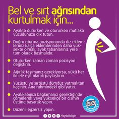 @faydalibilgin #sağlık #sağlıkbilgileri #faydalıbilgiler #bilgi #kadın #pratikbilgi #diyet #beslenme #sağlıklıyaşam bel ağrısı sırt ağrısı kurtulmak