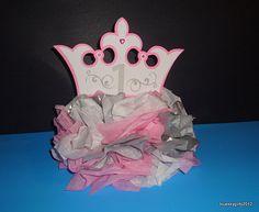 Princess Crown Decoration Centerpiece Table by blueskygirls, $40.00