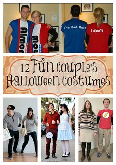 12 Fun Couples Halloween Costumes
