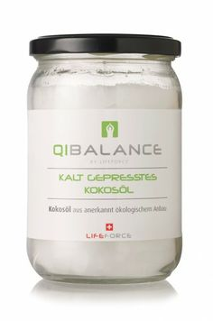 QIBALANCE BIO Kokosöl 500ml QI BALANCE Food, Eten, Meals, Diet