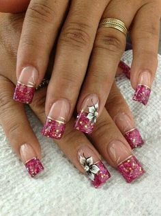 New French Manicure Designs Summer Nailart Nails Magazine Ideas Fabulous Nails, Gorgeous Nails, Pretty Nails, Beautiful Nail Designs, Beautiful Nail Art, Fingernail Designs, Nail Art Designs, Pedicure Designs, Hot Nails