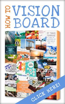 Love these vision boards or as I prefer to call them Dream Boards. Whats your dream and purpose in life?