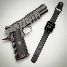 Salient Arms International 1911. So ironic these were both Kalifornia originated products. Photo by @fitzgeraldjon
