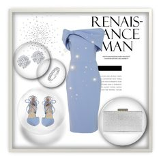 """Blue whit diamonds"" by behijadedic ❤ liked on Polyvore featuring Christian Siriano, Kristin Cavallari, Monsoon, Effy Jewelry and Karl Lagerfeld"