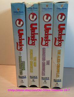 Lot of 4 Vintage Underdog VHS Movie Tapes Cartoons | eBay