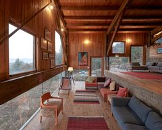Matra Architects' holiday home has peaked roof and Himalayan views