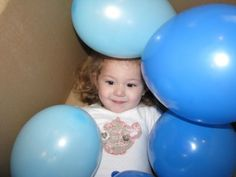 Blue Activities - Box of Balloons Game