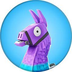 Fortnite Characters Llama Displate artwork by artist