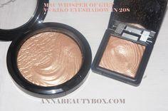 Mac Whisper of Guilt = Kiko Water Eyeshadow 208 @Daisy Stickel Stickel Knox go to kiko cosmetics.co.uk