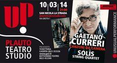 Solis String Quartet & Gaetano Curreri