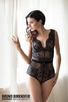 Curtain dream by Bruno Birkhofer on Lingerie, Models, Portrait, My Eyes, Erotic, Bodysuit, Beautiful Women, Curtains, Sexy