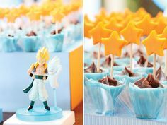 Decoración de Fiesta Infantil de Dragon Ball Z . Si tu hijo es un amante deDragon Ball Z.probablemente quiera decorar toda la casa con est...