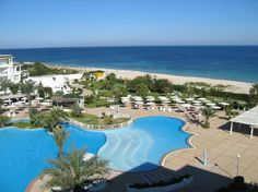 Port el Kantaoui is a beautiful getaway overlooking the sea with a beautiful beach heart is the hotel EL Mouradi Palm Marina.  In this hotel you can enjoy? Stay of relaxation and comfort.