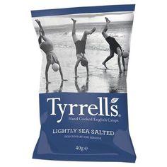 Tyrrells Potato Chips Lightly Seasalted (12x1.4Oz)