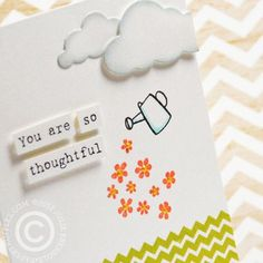 SprinklingFlowers Card by Julie Ebersole
