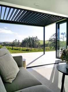 New Louvre awning for the outdoor living room. Black Barn, Outdoor Lighting, Outdoor Decor, Interior Design Business, Property Development, Small House Plans, New Builds, Home Staging, Pavilion