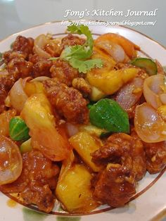 Fong's Kitchen Journal: Sweet and Sour Pork (咕噜肉)