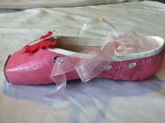 Abby Rose ...  Decorated Pointe Shoe by JazzedUpPointes on Etsy,