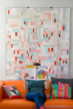 PIckets quilt by Cheryl Arkison for Uppercase Magazine