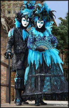 Venetian masquerade costumes and masks Venetian Costumes, Venice Carnival Costumes, Venetian Carnival Masks, Mardi Gras Carnival, Mardi Gras Costumes, Carnival Of Venice, Venetian Masquerade, Masquerade Costumes, Masquerade Ball