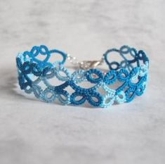 Tatted Lace Bracelet Lillian by TataniaRosa by Selma Rodrigues