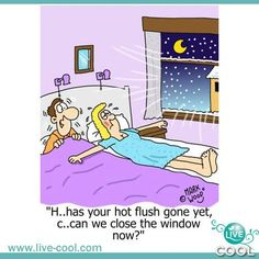 Touch the window and there will be trouble!  www.Live-Cool.com   Natural Menopause Relief.