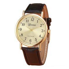 2017 New Business Men's Watches Casual Sport Wristwatches Retro Design Leather Luxury Analog Quartz Wrist Watch Relogio