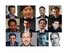 Die Köpfe hinter den wertvollsten Start-ups im Internet  Ein Habermas-Schüler, ein Steve-Jobs-Klon und gleich zwei Bad Boys: Die Chefs der teuersten Start-ups der Welt sind eine bunte Mischung mit immerhin zwei Deutschen