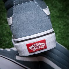 Vans   Van Sri Lanka gray blue high suede + canvas the world s best limit  fashion casual lovers shoes Model  Size  35 36 37 38 39 40 41 42 43 449 ffb6b64696999