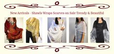 New arrivals in shawls and wraps, seasonal scarves for women deeply discounted and unique - hurry some are unique finds! http://www.yourselegantly.com/new-arrivals.html