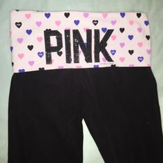 PINK Yoga pants Worn couple times, look brand new. MAKE OFFERS!!!! PINK Victoria's Secret Pants Boot Cut & Flare