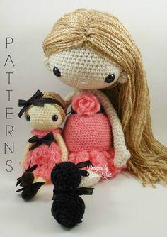 Rachel & Naomi Anne Amigurumi Doll Crochet Pattern by CarmenRent