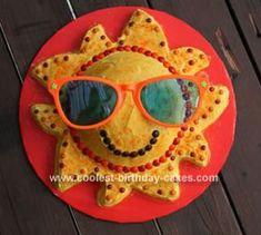 Cool+Homemade+Sunshine+Birthday+Cake